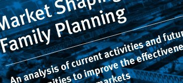 Market Shaping for Family Planning