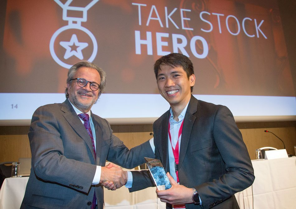 Ian Salas Take Stock Award