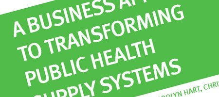 A Business Approach to Transforming Public Health System