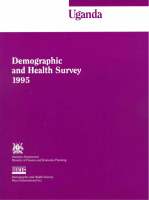 Uganda - Demographic and Health Survey - 1996
