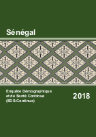 Sénégal - Demographic and Health Survey - 2018
