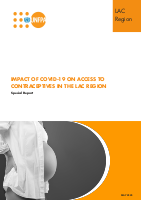 Impact of COVID 19 on the access to contraceptives in LAC countries