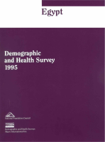 Egypt - Demographic and Health Survey - 1996
